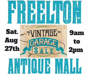 HUGE END OF SUMMER ANTIQUE & VINTAGE YARD SALE 248 FREELTON RD