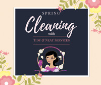 Tidy & Neat Services - Because clean is nicer