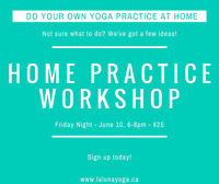 DO YOGA YOURSELF AT HOME - HOME YOGA PRACTICE WORKSHOP