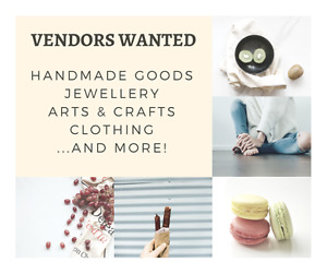 Vendors Wanted!! Crafters, artists, and more!