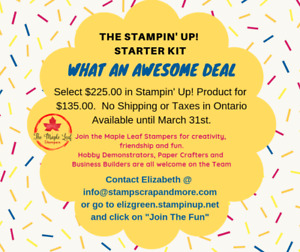 The Stampin' Up! Starter Kit... What an awesome deal!