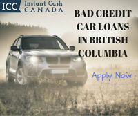 Bad Credit Car Loans British Columbia