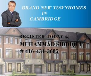 Luxury Town Homes in Cambridge from $384,990