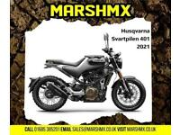 Husqvarna Svartpilen 401 2021 Model Street Bike - Nil Deposit Finance Available