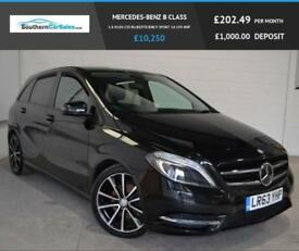 2013 63 MERCEDES-BENZ B CLASS 1.8 B180 CDI BLUEEFFICIENCY SPORT 5D 109 BHP DIESE