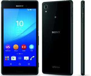 SONY XPERIA M4 AQUA E2306 - BLACK 16gb Bundle with Carrying Case