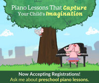 Free Piano Lesson for Children 3+