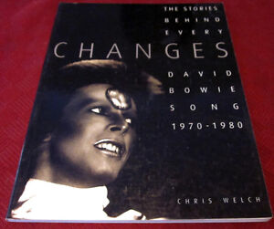 DAVID BOWIE - CHANGES 1970-1980 Book *Out of Print* 30 yrs Old
