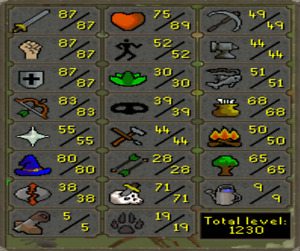 Selling My Main ~ Old School RuneScape Account