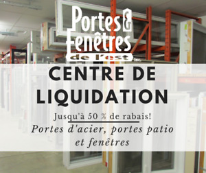 Centre de liquidation - Jusqu'à 50% de rabais!