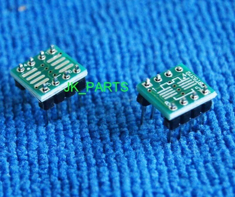 New 50pcs SOP8 SO8 SOIC8 TSSOP8 TO DIP8 adapter to DIP + Pin Header