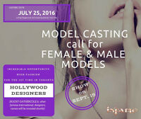Models and DJ needed for model casting July 25