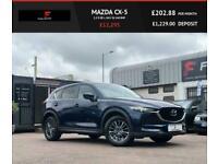 2017 Mazda CX-5 2.2 D SE-L NAV 5d 148 BHP Estate Diesel Manual