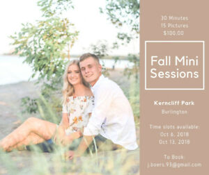 Mini Sessions - October