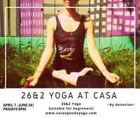Beginner Yoga Classes at Casa!