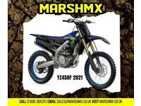 Yamaha YZ450F Monster 2021 Model Uk Bike 6 mths Warranty-Finance from 182/Mth