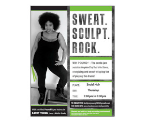 Free Poundfit Sampler Class/ Must register by April 22nd.