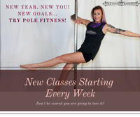 Try Pole Fitness ~ Surprise yourself! (FREE Drop-in class)