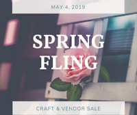 Spring Fling Craft & Vendor Sale