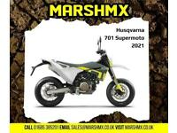 Husqvrana 701 Supermoto 2021 Model - Nil Deposit Finance Available