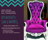 NEW TWEEN SPA HIRING ALL POSTIONS  FT/PT