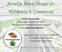 GrowOp Green Houses for Residential & Commercial