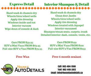 Time to clean the winter out of your car!!!!!