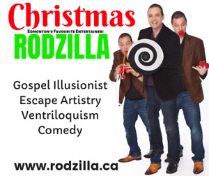 Christmas with Rodzilla: Dinner and Entertainment