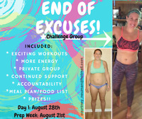 At home fitness programs - challenge / support group !!!