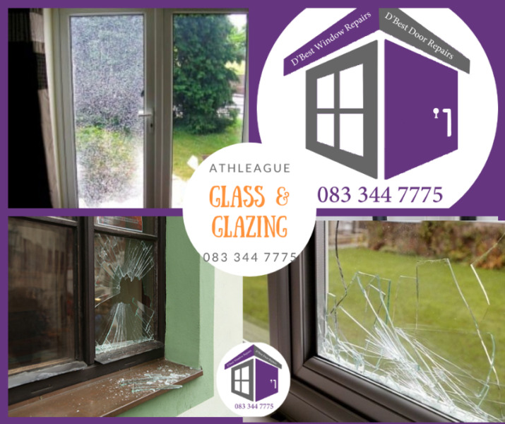 Athleague Glass, Glazing Broken Window Replacement from 80.00