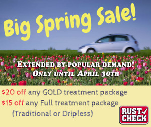 Rust Check Spring Sale