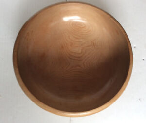 """11"""" JAPANESE WOODEN BOWL 