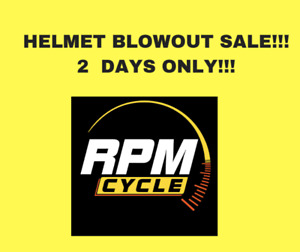 Helmet Sale - 2 DAYS ONLY