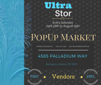 FREE POPUP MARKETS FOR VENDORS EVERY SATURDAY NORTH BURLINGTON