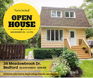 Open House!  36 Meadowbrook Dr., Bedford