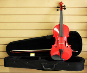 Red 3/4 Size Violin