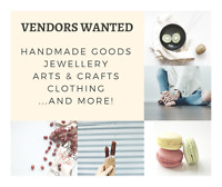 Vendors wanted for summer festivals! Artists, crafters, and more
