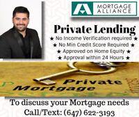 1st, 2nd Mortgages, No Credit check!! Approval Within 24hrs!!