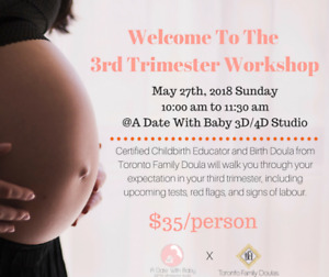 Pregnancy Workshop: Welcome To The Third Trimester