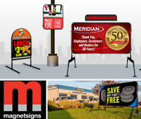 MAGNETSIGNS LETHBRIDGE - Portable Sign Solutions!