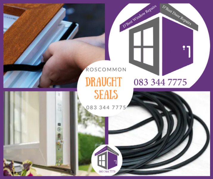 Roscommon Window and Door Draught Seals | Draft Seals and gaskets from €35.00