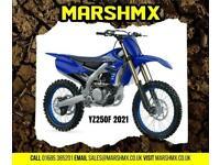 Yamaha YZ250F 2021 Model Uk Machine 6Mth Warranty-Finance from 169/Mth