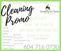 Move in and Move out house cleaning