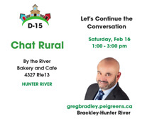 CHAT RURAL Community Conversation in Hunter River