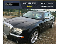 2008 CHRYSLER 300C 3.0 V6 CRD DIESEL BLACK GOOD HISTORY VERY CLEAN CAR