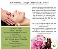 Indian Head Massage Certification Course