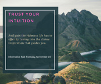 Trust Your Intuition - What do you Think!