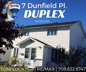 7 Dunfield Pl. #CornerBrook #DUPLEX #ToniLockyer #Remax