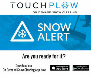 TouchPlow On Demand Snow Removal Cambridge Kitchener Area image 1
