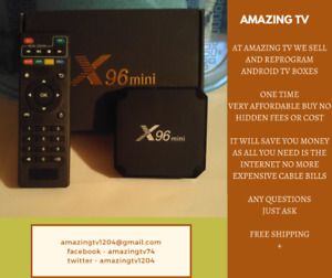 Brand New Android X96 Mini TV Box..Great Christmas Gift